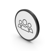 Icon People Group PNG & PSD Images