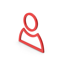Symbol People Red PNG & PSD Images
