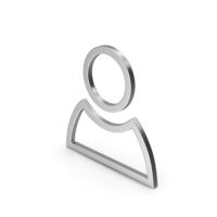 Symbol People Silver PNG & PSD Images