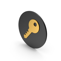 Key Gold Icon PNG & PSD Images