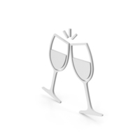 Symbol Clinking Glasses PNG & PSD Images