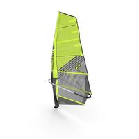 Windsurf Mast Sail and Boom PNG & PSD Images