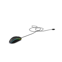 Wired RGB Gaming Mouse PNG & PSD Images