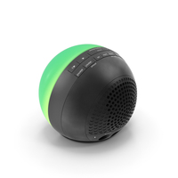 Wireless Bluetooth Phaze Clock Radio iHome iBT29 Green PNG & PSD Images
