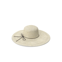 Women Straw Hat Yellow PNG & PSD Images