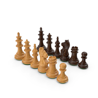 Wooden Chess Figures PNG & PSD Images