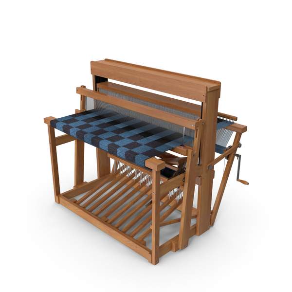 Wooden Loom with Rug PNG & PSD Images