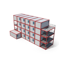 Container Building PNG & PSD Images