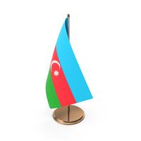 Azerbaijan Desk Flag PNG & PSD Images
