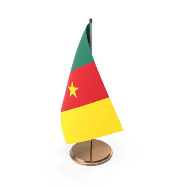 Cameroon Desk Flag PNG & PSD Images