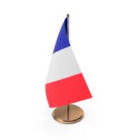 France Desk Flag PNG & PSD Images