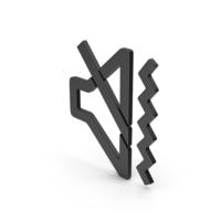 Symbol Sound Vibrate Black PNG & PSD Images