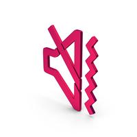 Symbol Sound Vibrate Metallic PNG & PSD Images