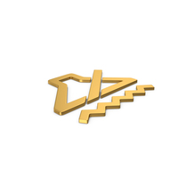 Gold Symbol Sound Vibrate PNG & PSD Images