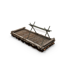 Wooden Raft PNG & PSD Images