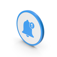 Icon Notification Blue PNG & PSD Images