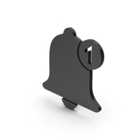 Symbol Notification Black PNG & PSD Images