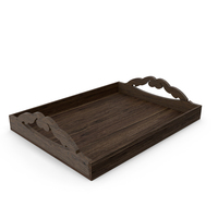 Wooden Tray PNG & PSD Images