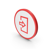 Icon Login Red PNG & PSD Images
