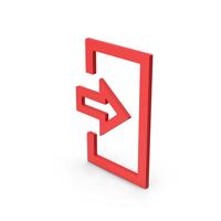 Symbol Login Red PNG & PSD Images