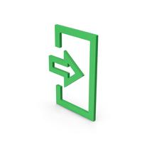 Symbol Login Green PNG & PSD Images