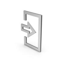 Symbol Login Silver PNG & PSD Images