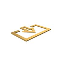 Gold Symbol Login PNG & PSD Images