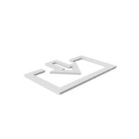 Login Symbol White PNG & PSD Images