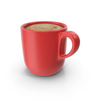 Cup of Coffee Red PNG & PSD Images