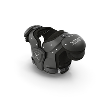Xenith Flyte Youth Football Shoulder Pads Black PNG & PSD Images