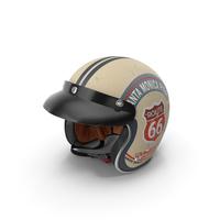 Torc Route 66 Helmet PNG & PSD Images
