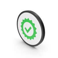 Icon Guarantee Green PNG & PSD Images