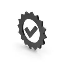 Symbol Guarantee Black PNG & PSD Images