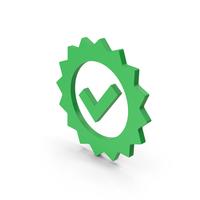 Symbol Guarantee Green PNG & PSD Images