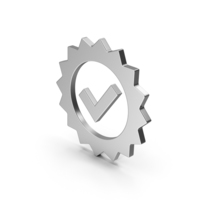 Symbol Guarantee Silver PNG & PSD Images