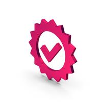 Symbol Guarantee Metallic PNG & PSD Images