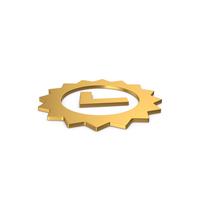 Gold Symbol Guarantee PNG & PSD Images