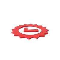 Red Symbol Guarantee PNG & PSD Images