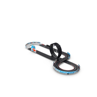 Toy Racing Car Track with Cars PNG & PSD Images