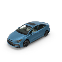 Toyota Corolla 2020 PNG & PSD Images
