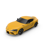 Toyota Supra 2019 Simple Interior PNG & PSD Images
