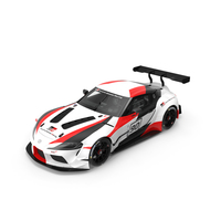 Toyota Supra Gazoo Racing Concept PNG & PSD Images
