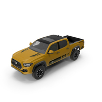 Toyota Tacoma TRD Off Road Bronze 2021 PNG & PSD Images