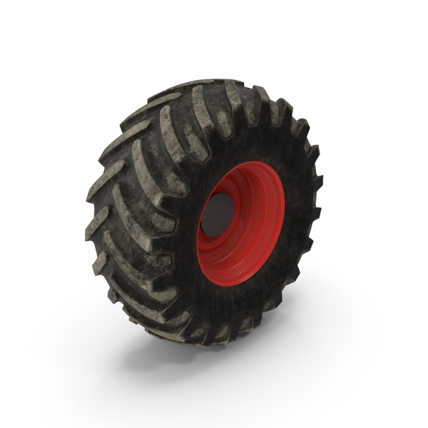 Tractor Big Dirty Wheel PNG & PSD Images