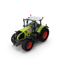 Tractor CLAAS AXION Detailed Interior Clean PNG & PSD Images
