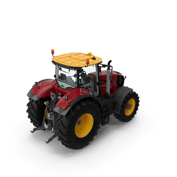 Tractor Generic Detailed Interior Clean PNG & PSD Images