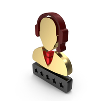 Support Customer Care Service Men Zero Star Rating PNG & PSD Images