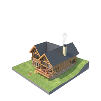Cabin Wood PNG & PSD Images