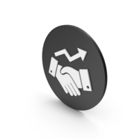 Business Deal Growth Icon PNG & PSD Images