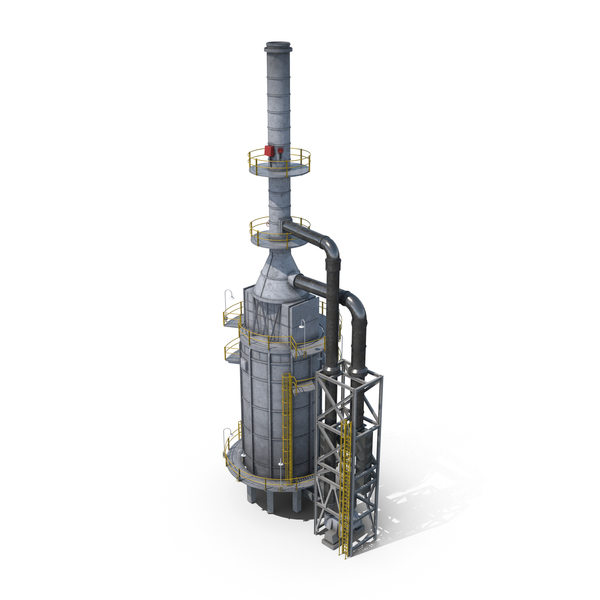 Oil Refinery Furnace PNG & PSD Images